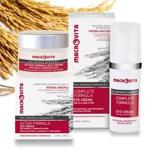 MACROVITA ACTIVE SET: day cream for normal and combination skin 40ml + eye cream 30ml
