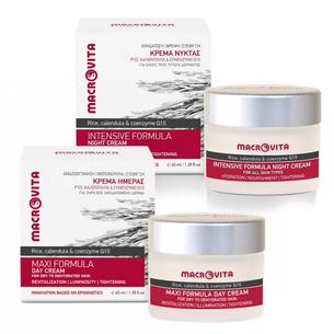 MACROVITA MAXI SET: day cream for dry to dehydrated skin 40ml + night cream 40ml