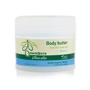 MACROVITA OLIVE-ELIA BODY BUTTER MARINE olive oil & water lily 200ml