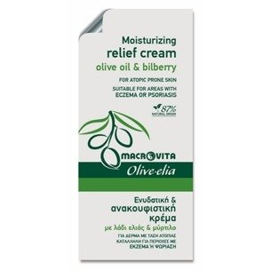 MACROVITA OLIVE-ELIA MOISTURIZING RELIEF CREAM olive oil & bilberry 3ml (sample)