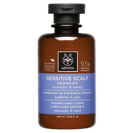 APIVITA Sensitive Scalp Shampoo with Lavender & Honey 250ml