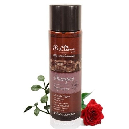 BioAroma Herbal Shampoo for all hair types 100% natural