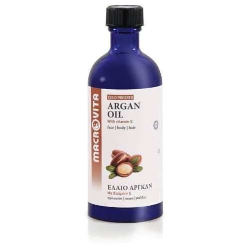 MACROVITA ARGAN OIL in natural oils with vitamin E 100ml