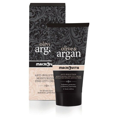 MACROVITA OLIVE & ARGAN ANTI-POLLUTION MOISTURIZING FINE CITY CREAM all skin types 50ml