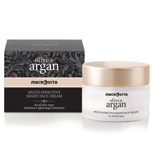 MACROVITA OLIVE & ARGAN MULTI-EFFECTIVE NIGHT FACE CREAM all skin types 50ml