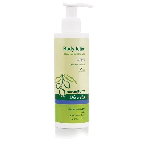 MACROVITA OLIVE-ELIA BODY LOTION AURA olive oil & aloe vera 200ml