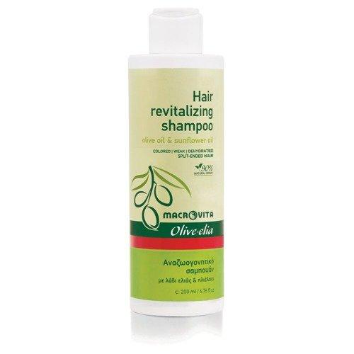 MACROVITA OLIVE-ELIA Hair Revitalizing Shampoo olive oil & sunflower 200ml