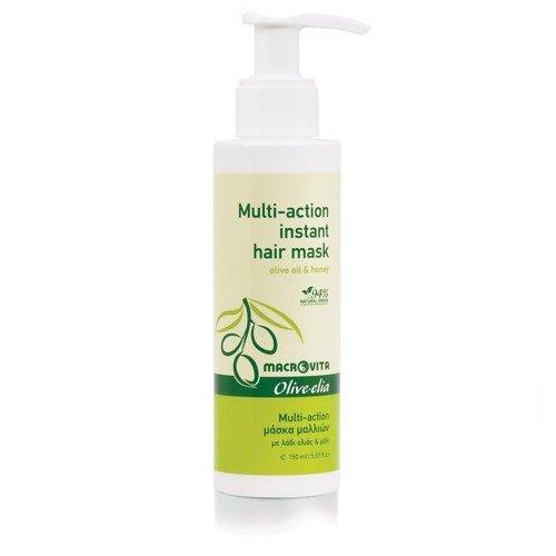 MACROVITA OLIVE-ELIA MULTI-ACTION INSTANT HAIR MASK olive oil & honey 150ml