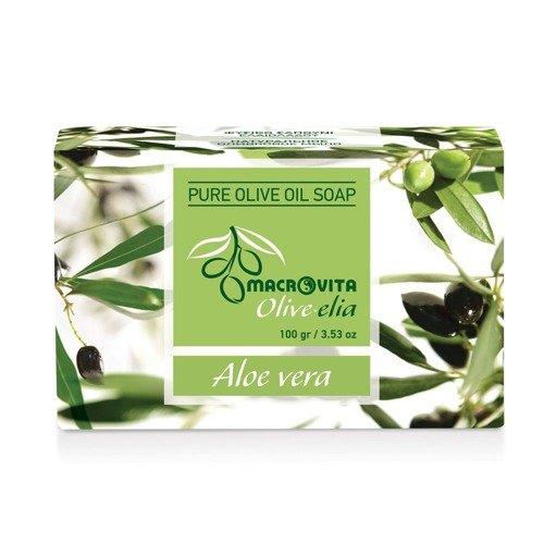MACROVITA OLIVE-ELIA Pure Olive Oil Soap ALOE VERA 100gr