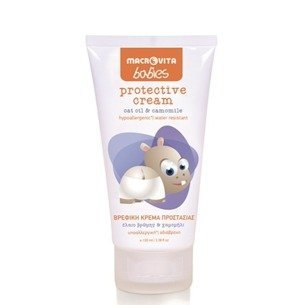MACROVITA BABIES protective cream oat oil & camomile 5ml (Probe)