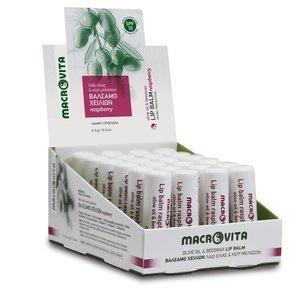 MACROVITA Lippenstift mit Bio-Komponenten SPF10 RASPBERRY 4g