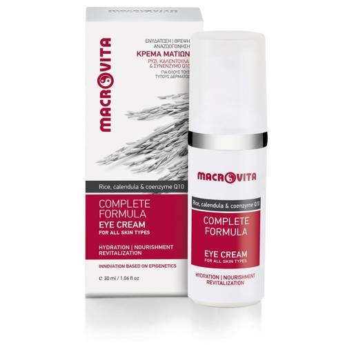 MACROVITA COMPLETE FORMULA natürliche Augencreme für alle Hauttypen 30ml