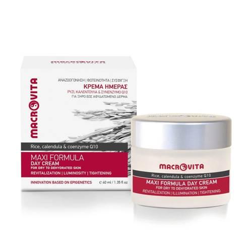 MACROVITA MAXI FORMULA natürliche Tagescreme für trockene bis dehydrierte Haut 40ml