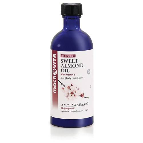 MACROVITA OLEJ ZE SŁODKICH MIGDAŁÓW w naturalnych olejach tłoczony na zimno z witaminą E 100ml