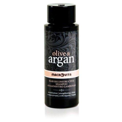 MACROVITA OLIVE & ARGAN regenerujący szampon z olejkiem arganowym 100ml